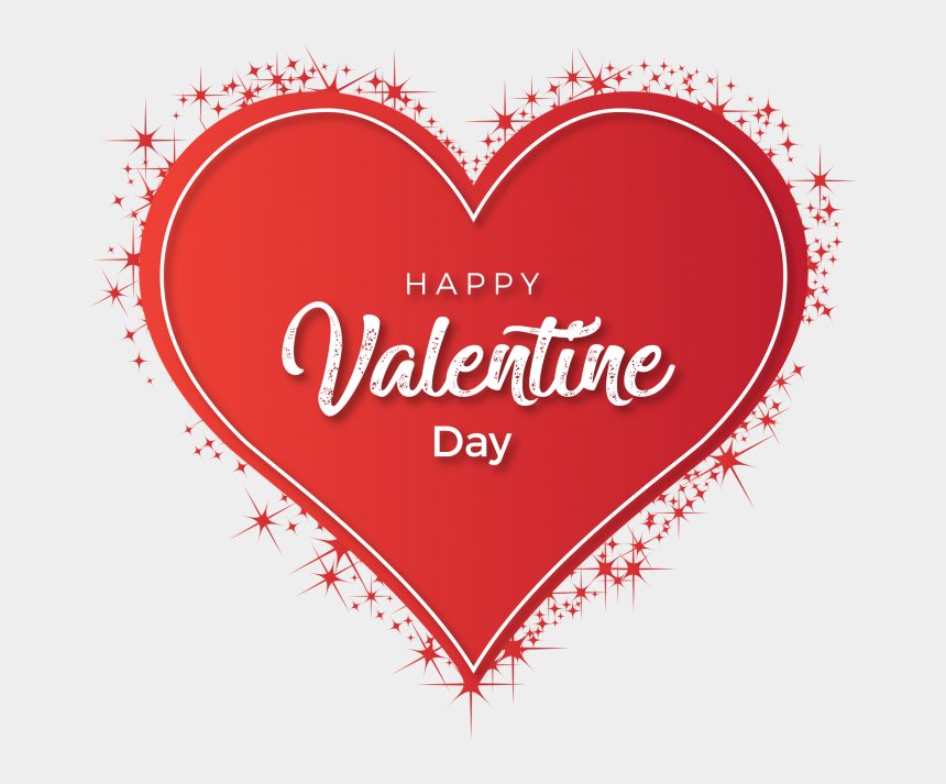 valentine's day clip art, Cartoons - Happy Valentines Day Heart Png - Happy Valentine Day Heart