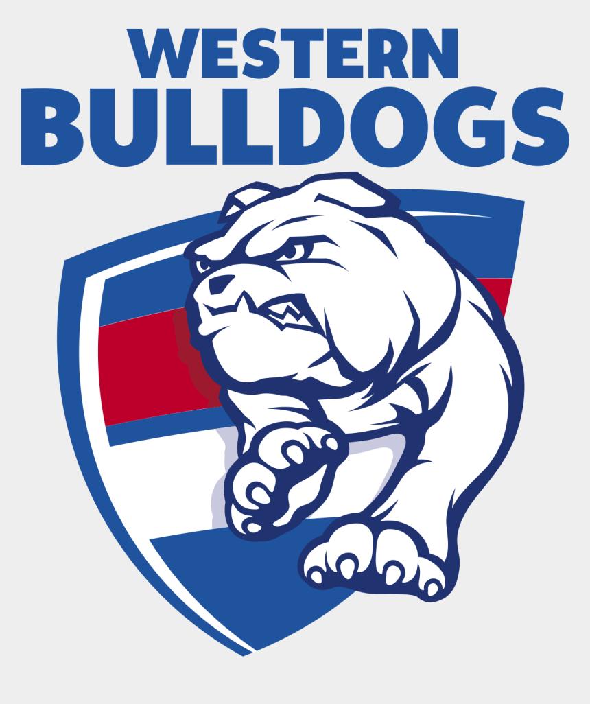 bulldog clip art, Cartoons - Drawing Bulldogs Printable - Western Bulldogs Logo