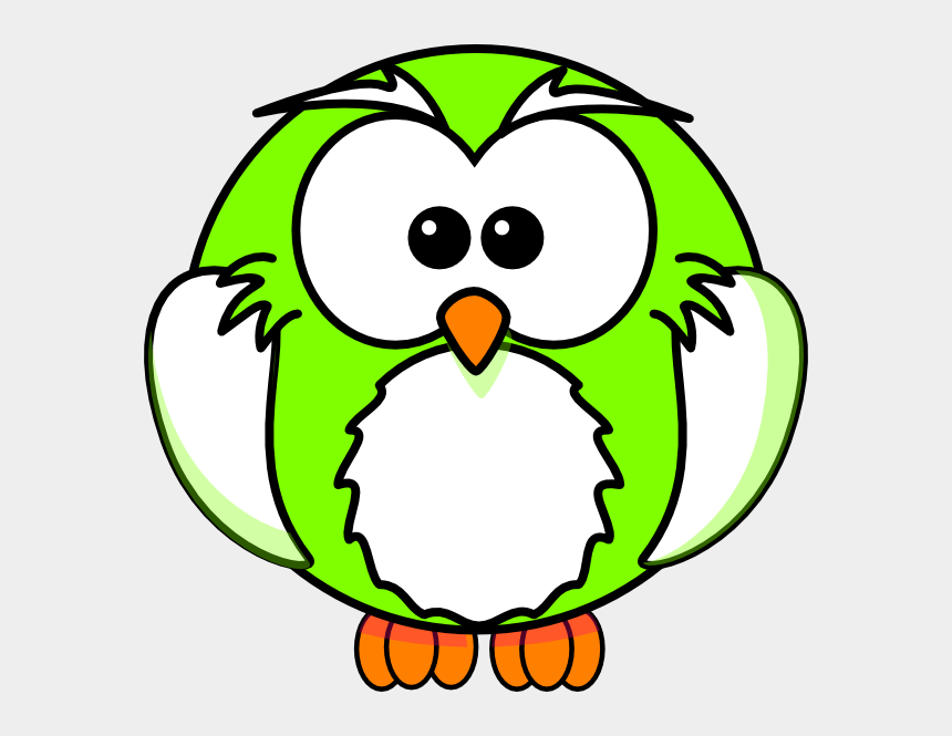 owl clip art black and white, Cartoons - How To Set Use Light Green Owl Icon Png - Cartoon Bird Colouring Pages
