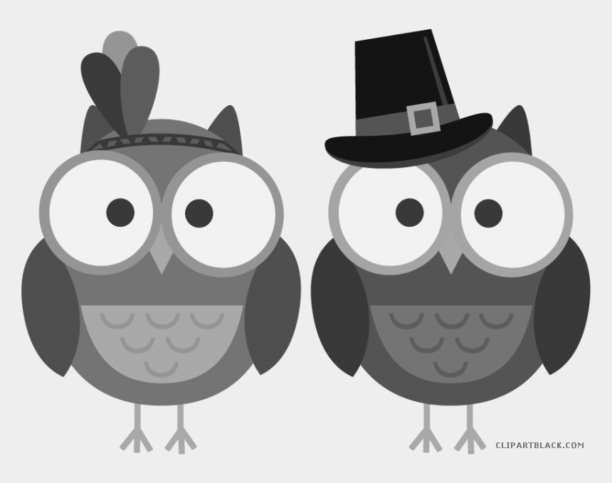 Thanksgiving owl. Clipart owls cliparts cartoons