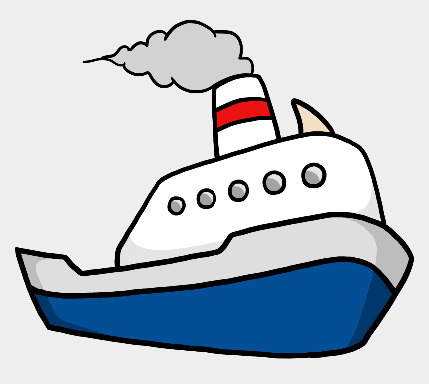 Clipart Of Ships, Ship And Boats - Cartoon Transparent ...