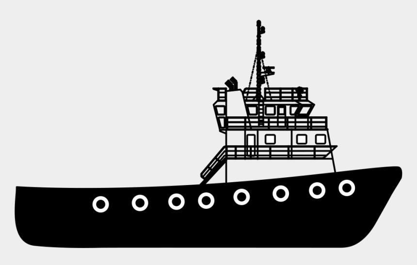 ship clip art, Cartoons - Shipping - Fishing Trawler