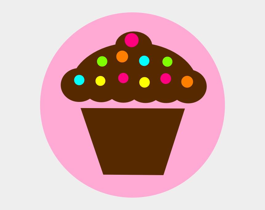 cupcakes clipart, Cartoons - Chocolate Cupcakes Clipart - Pink Cupcake Clipart Transparent