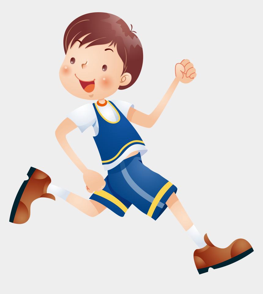 children reading clipart, Cartoons - Child Cartoon Clip Art - Run Kids Cartoon