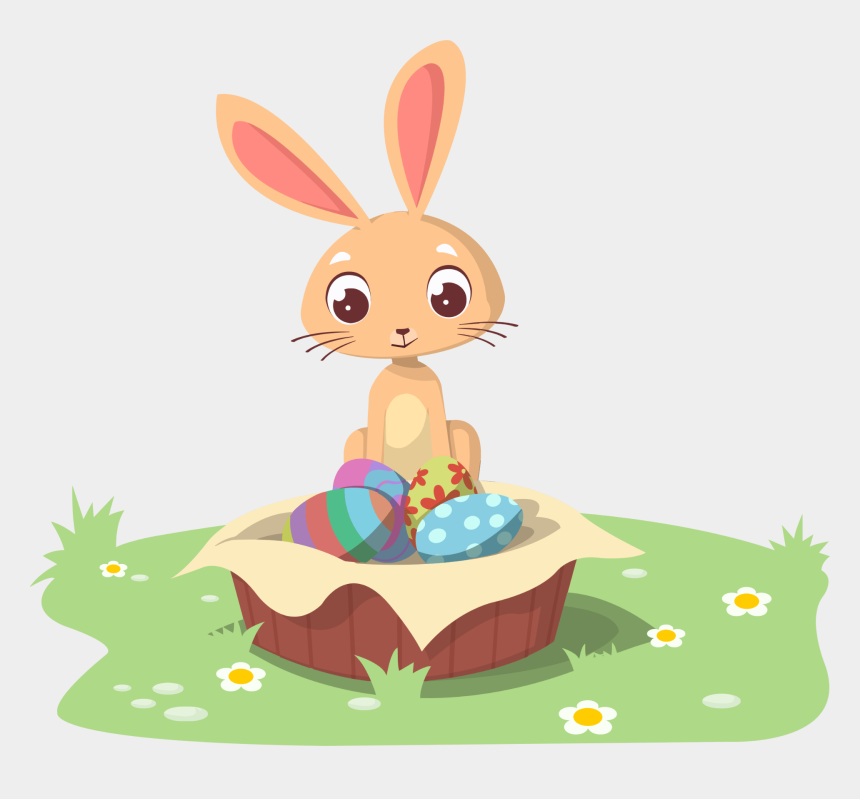 happy thanksgiving clipart, Cartoons - Happy Easter, Celebrating, Holiday, Egg - Bunny Easter