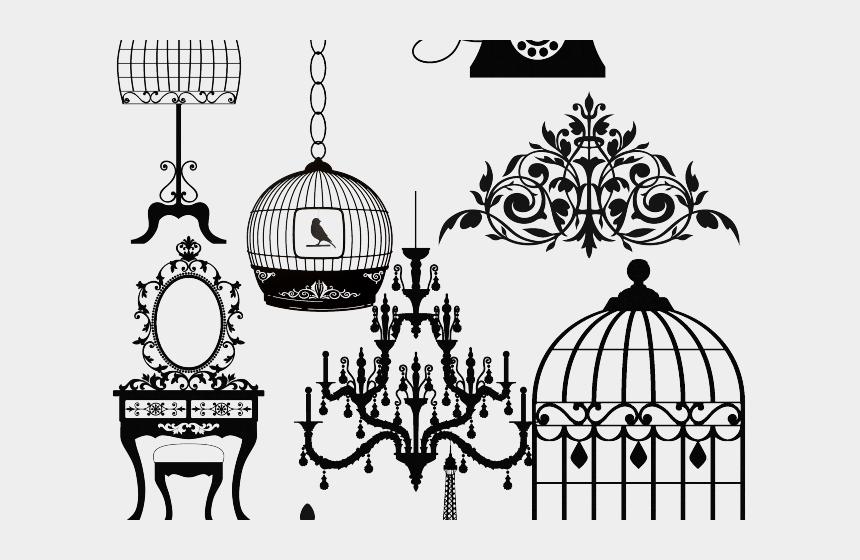 vintage clipart, Cartoons - Paris Clipart Vintage - Antique Furniture Clip Art