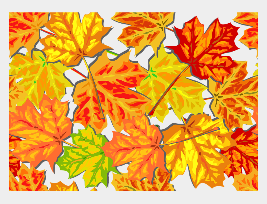fall leaf clip art, Cartoons - Autumn Foliage Fall Leaves Maple Tile Background - Clipart Fall Leaves Background