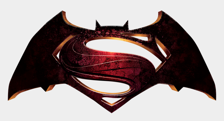 superman clip art, Cartoons - Superman Vs Batman Clipart - Batman Vs Superman Logo Png