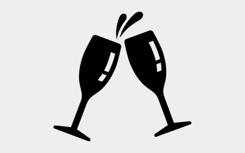 wine glass clip art, Cartoons - Vector Wine Glass Cheers