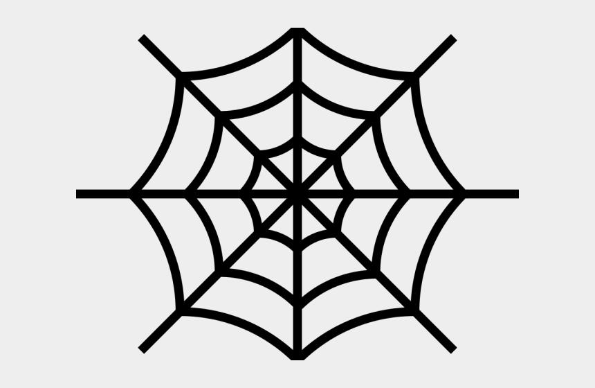 spiderweb clipart, Cartoons - Harvest Moon Clipart Cobweb - Simple Spider Web