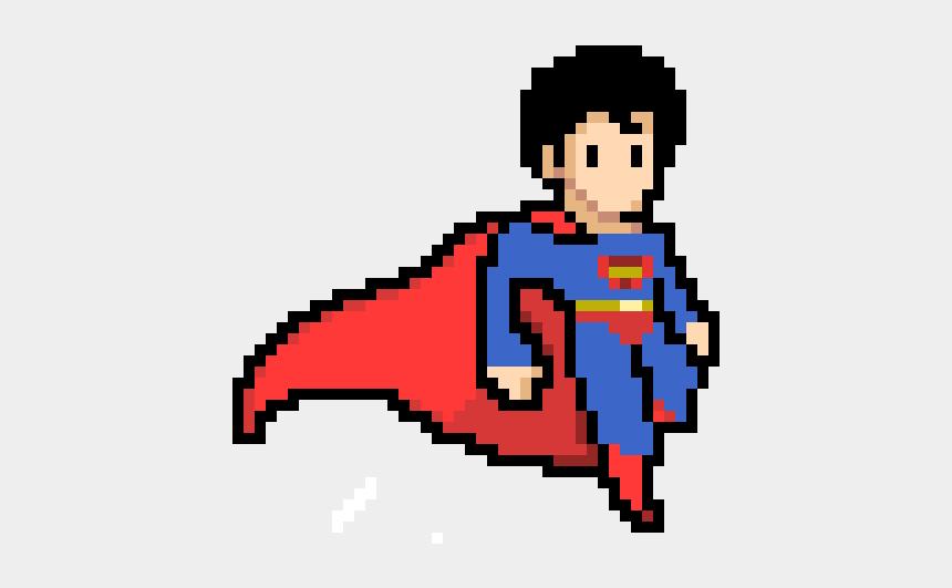 Superman Superman Pixel Cliparts Cartoons Jingfm