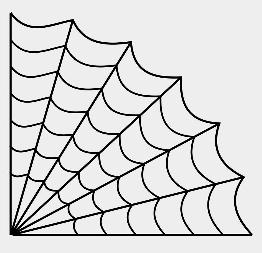 spiderweb clipart, Cartoons - Drawn Spider Web Line Drawing - Spider Web Transparent Background