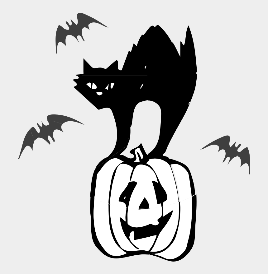 cute halloween cat clipart, Cartoons - Architetto Gatto Nero - Halloween Clip Art Black Cats