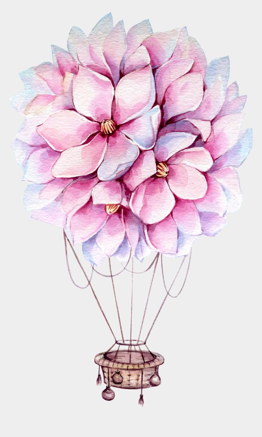hot air balloons clipart, Cartoons - Фото, Автор ✿lili@ ✿ На Яндекс - Hot Air Balloon Clipart Watercolor