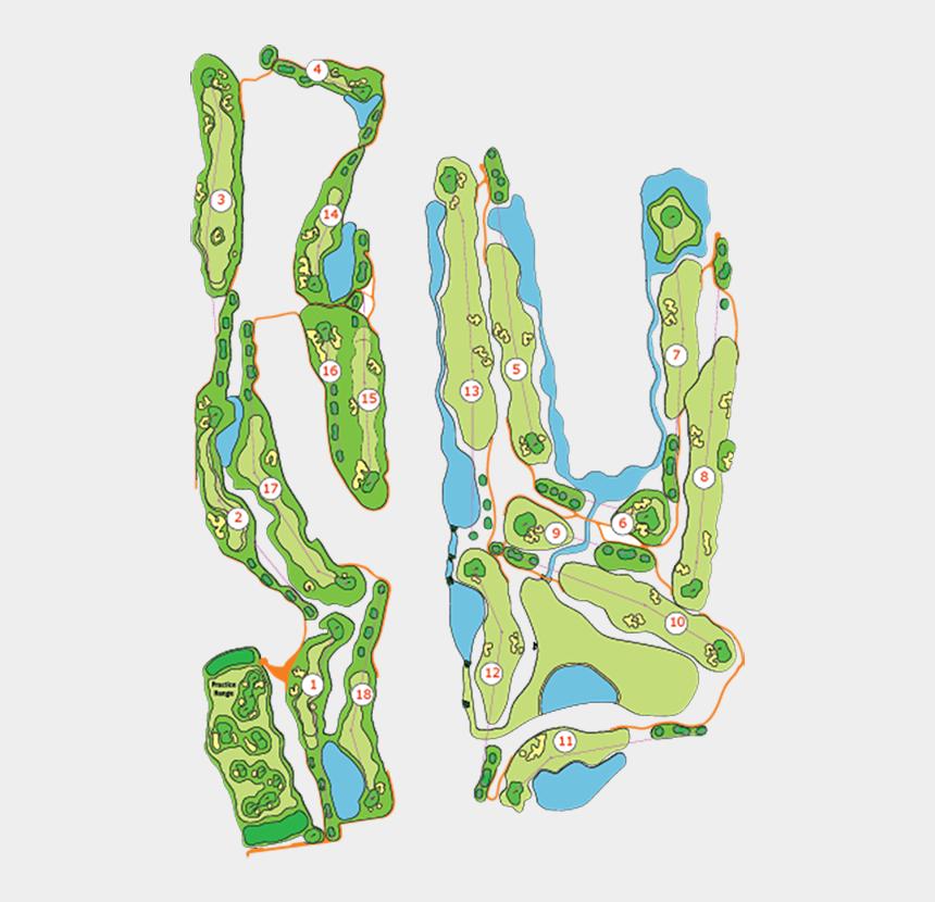 crossed golf club clipart, Cartoons - Hover - Illustration