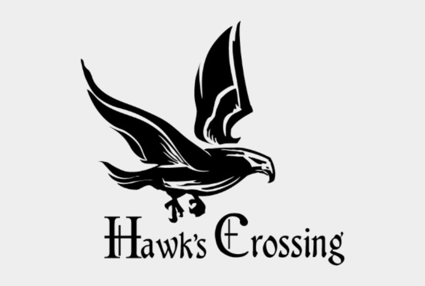 crossed golf club clipart, Cartoons - Hawks Crossing - Illustration