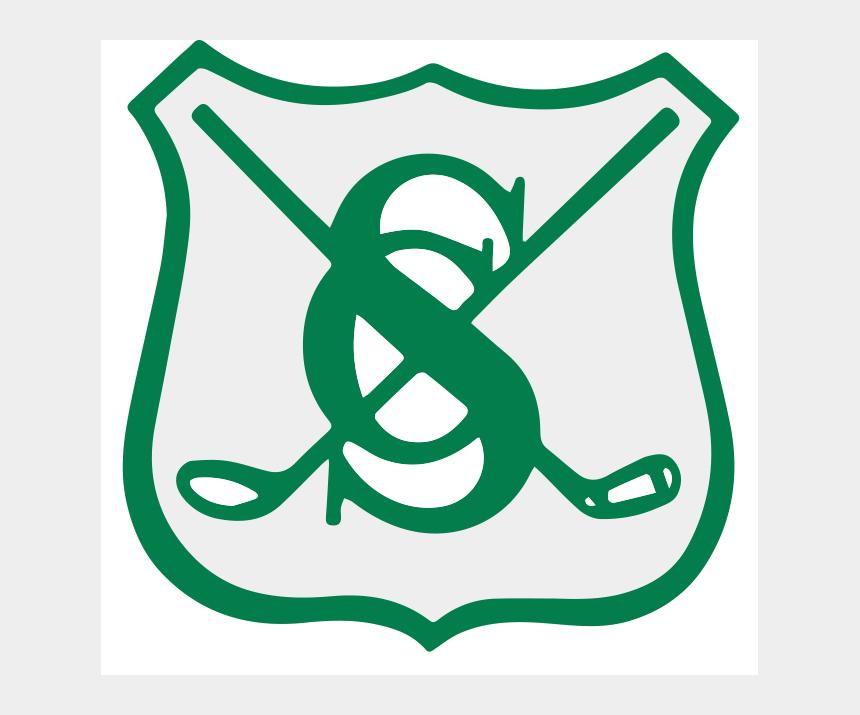 crossed golf club clipart, Cartoons - Stanwich Country Club - Emblem