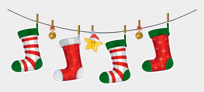 christmas ornament border clipart, Cartoons - Christmas Stocking Border Clipart 3 By Jose - Christmas Decorations Clip Art