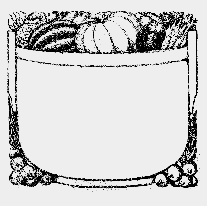white frame clipart, Cartoons - Frame Clip Black And White - Pumpkin Border Clipart Black And White