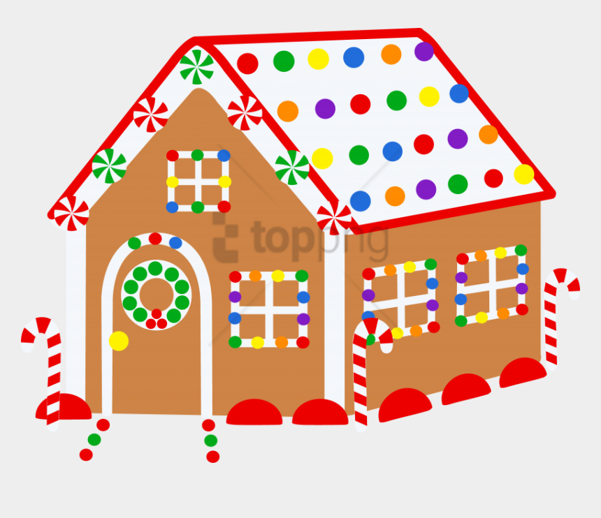 houses clipart free, Cartoons - Free Png Download Christmas Houses For Drawing Png - Christmas Clipart Gingerbread House