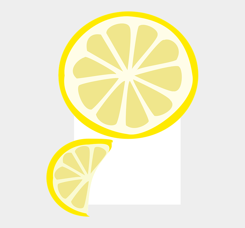 lemon slices clipart, Cartoons - Slice Fruit Yellow Lemon Wedge Summer Acidic - Lemon Wedge Graphic