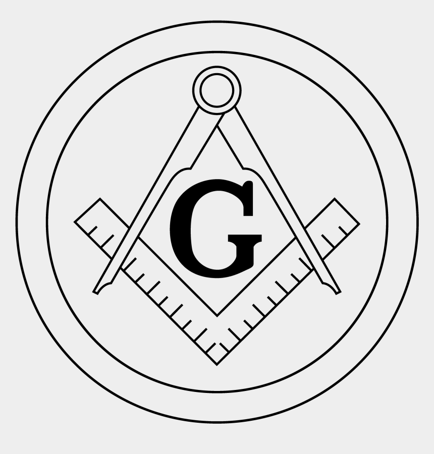 masonic cliparts, Cartoons - Free Masonic Emblems Amp Logos, Masonic Emblem Clip - Square And Compass Circle