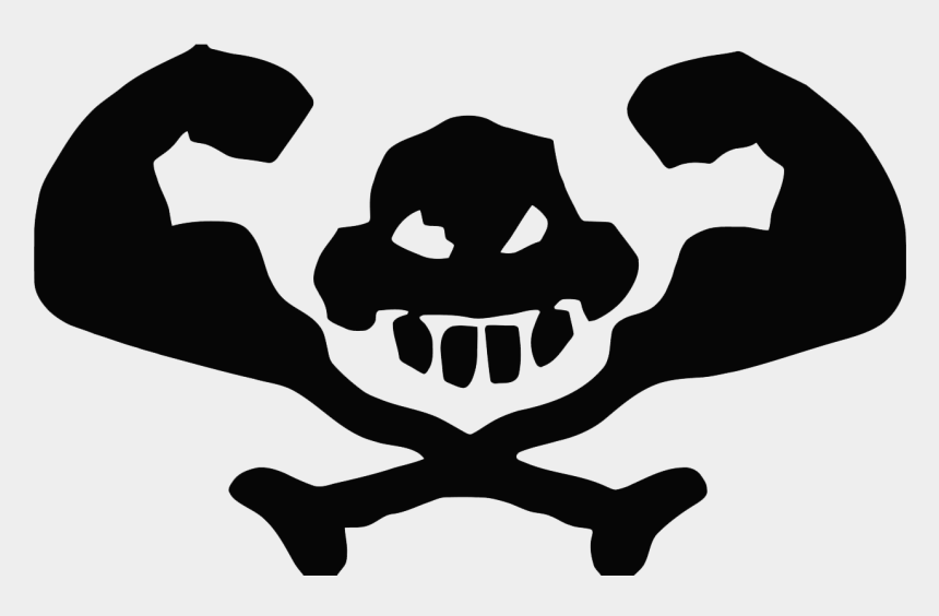 skull and crossbones clipart, Cartoons - Free Download Of Skull And Crossbones Icon Clipart - Graphic Design