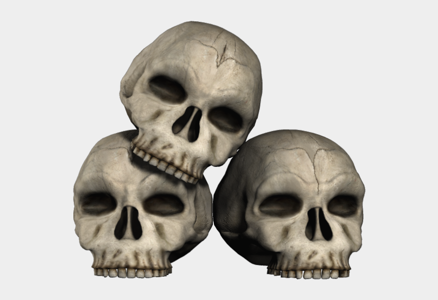 skull and crossbones clipart, Cartoons - Transparent Skulls Png Clipart - Skulls Png