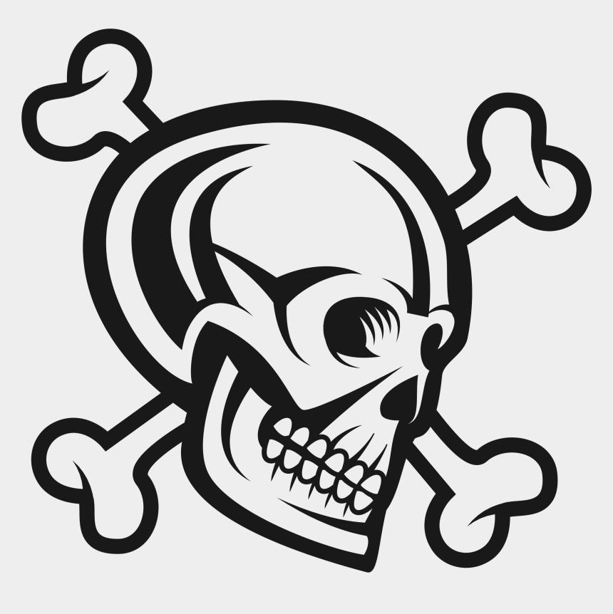 skull and crossbones clipart, Cartoons - Skull And Crossbones - One Piece Jolly Roger Png