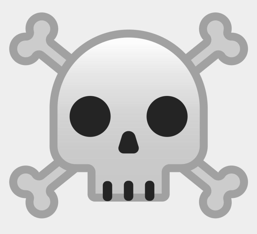 skull and crossbones clipart, Cartoons - Skull Emoji Png - Skull And Crossbones Emoji
