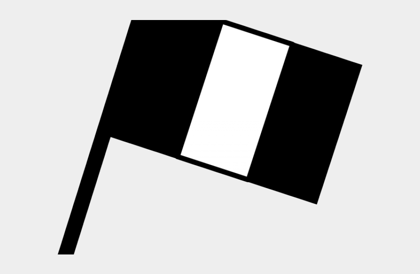 flags clipart, Cartoons - Flags Clipart France - Bandeira Preto E Branco