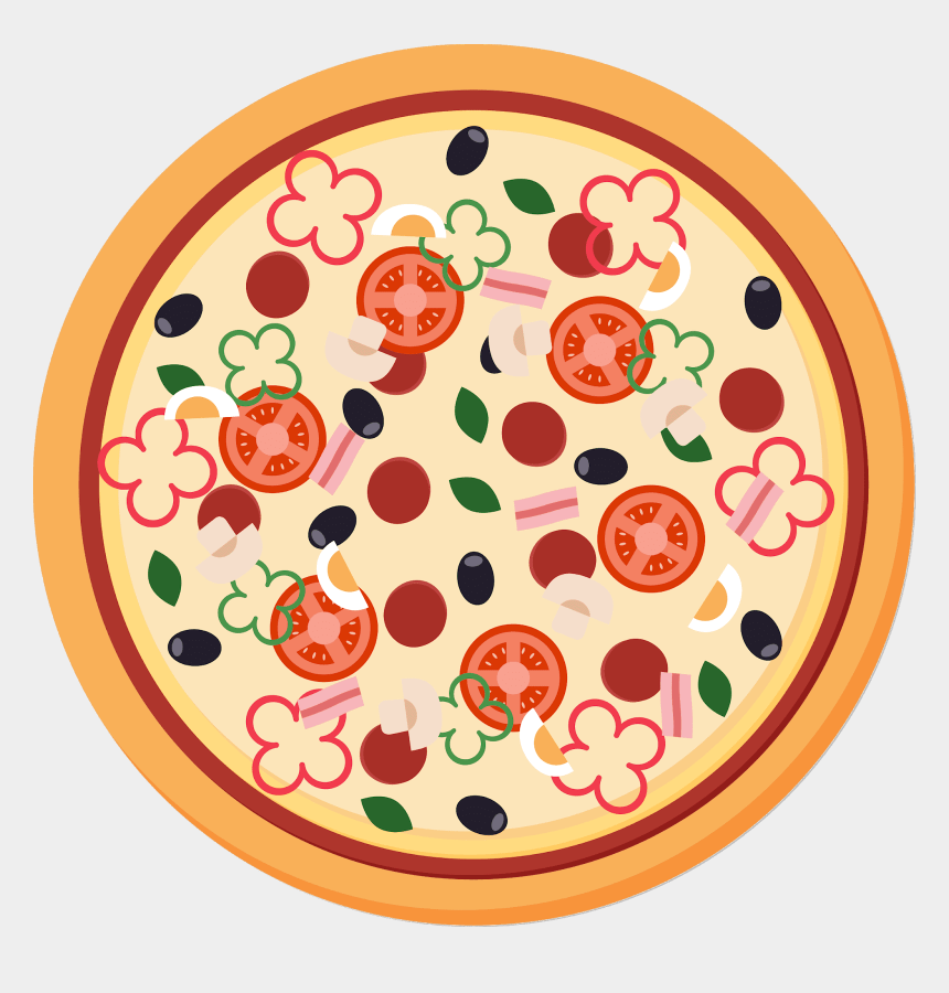 clipart of pizza, Cartoons - Pizza Images Clipart- Pizza, Sicilian Pizza, Italian - Pizza Vector Png Free