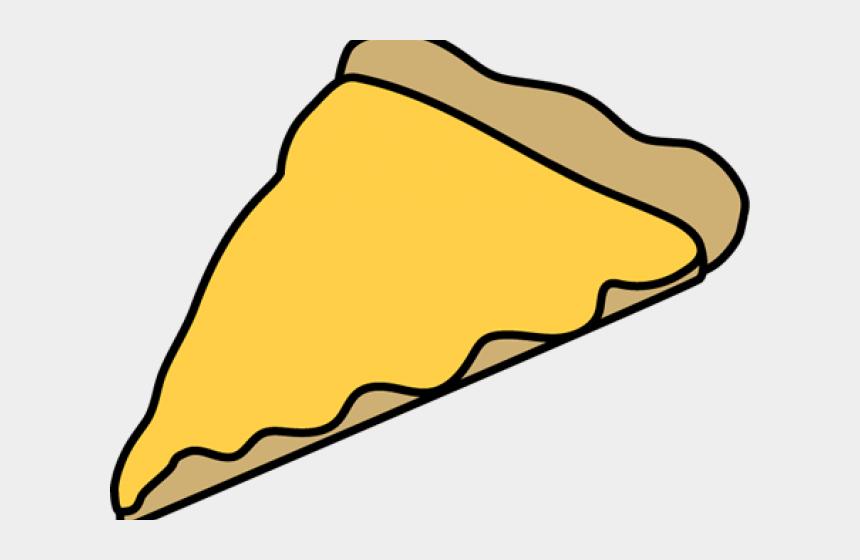 clipart of pizza, Cartoons - Cartoon Cheese Pizza Slice