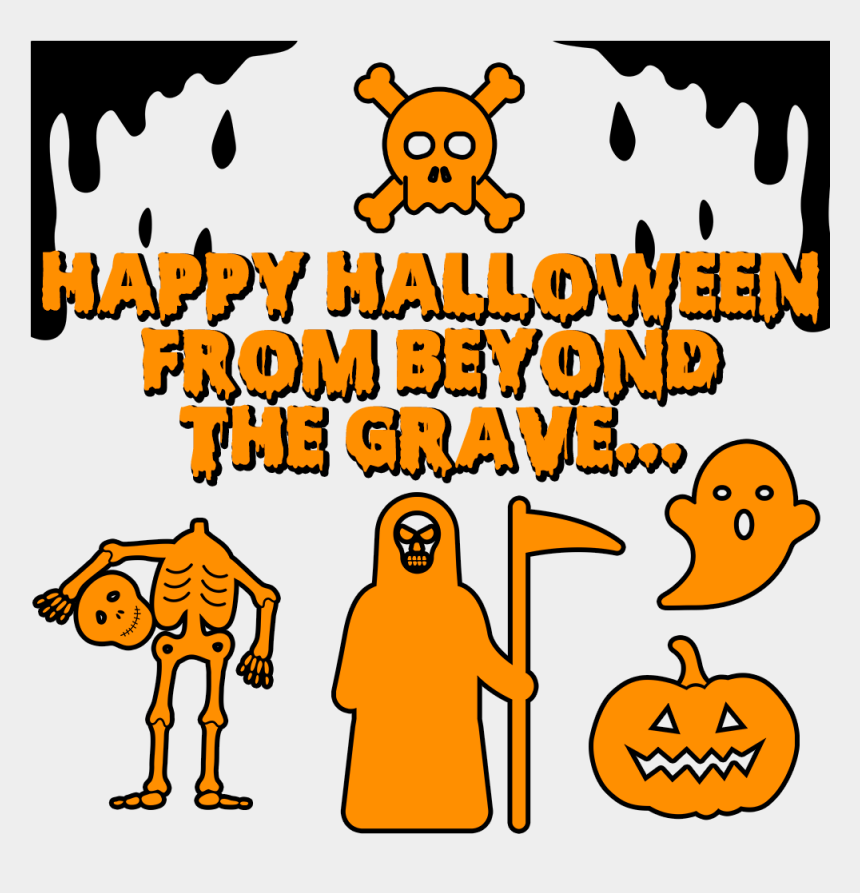 happy halloween pumpkin clipart, Cartoons - Bloody Happy Halloween