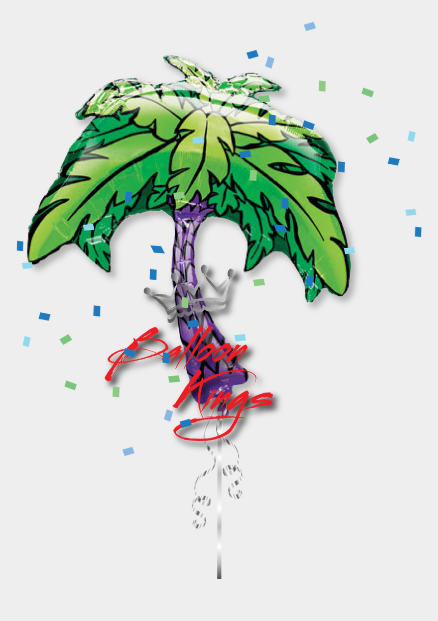 tiki clipart, Cartoons - Anagram International Tiki Time Balloon Bouquet - Foil Palm Balloons