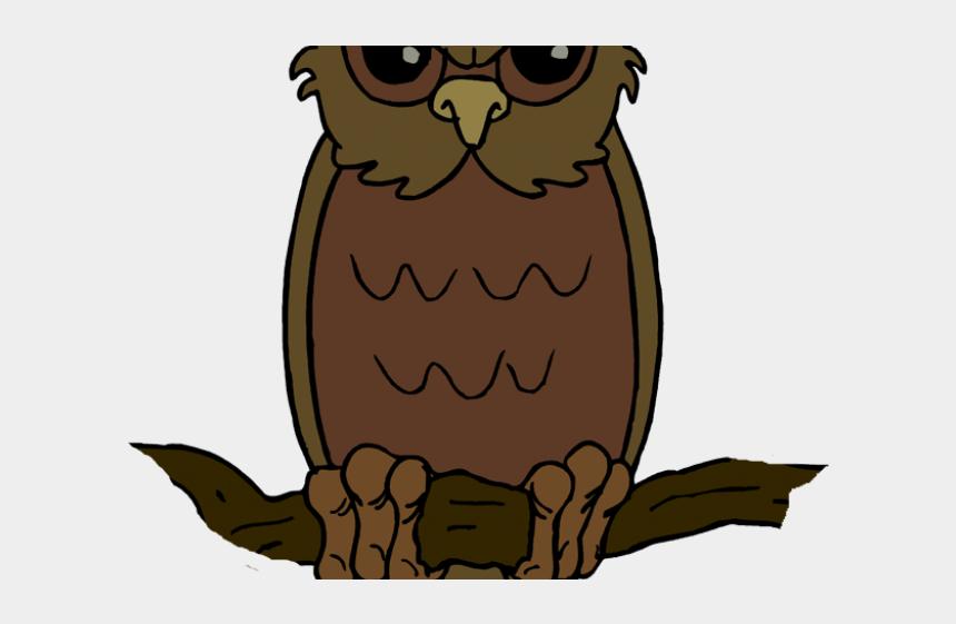 tiki clipart, Cartoons - Barred Owl Clipart Fierce - Halloween Owl Clipart