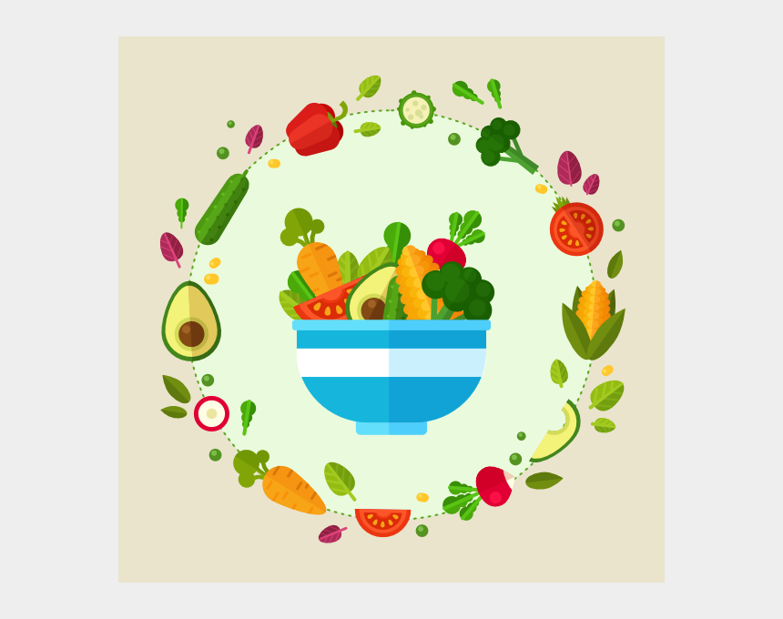 healthy foods clipart, Cartoons - Drawing Vegetables Healthy Food - Draw A Bowl Of Vegetables