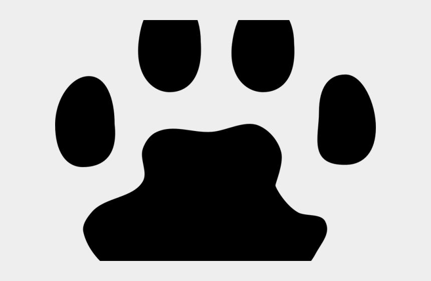 pawprint clipart, Cartoons - Paw Print Graphic - Cat Paw Print Transparent Background