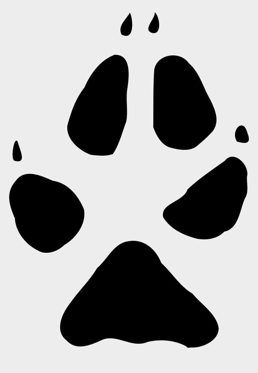 pawprint clipart, Cartoons - File Foxprint Wikimedia Commons Open Ⓒ - Fox Paw Print Clip Art