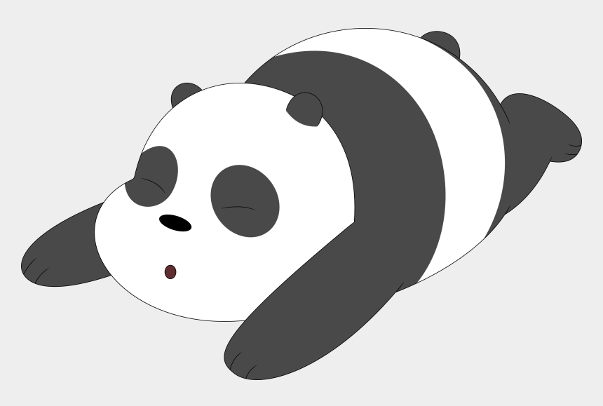 chicago bears clipart, Cartoons - We Bare Bears Panda Png - Panda We Bare Bear