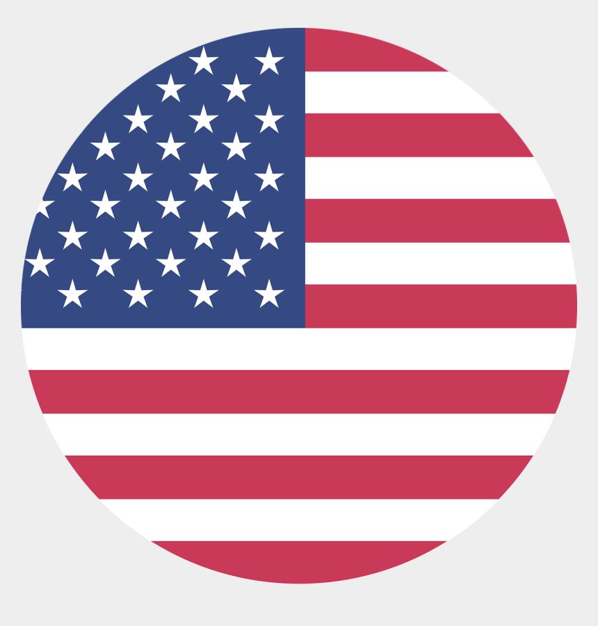 american flag clipart vector, Cartoons - American Flag Background Th - American Flag Circle Vector