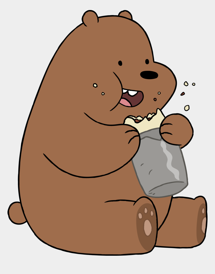grizzly bears clipart, Cartoons - Download - We Bare Bears Eating