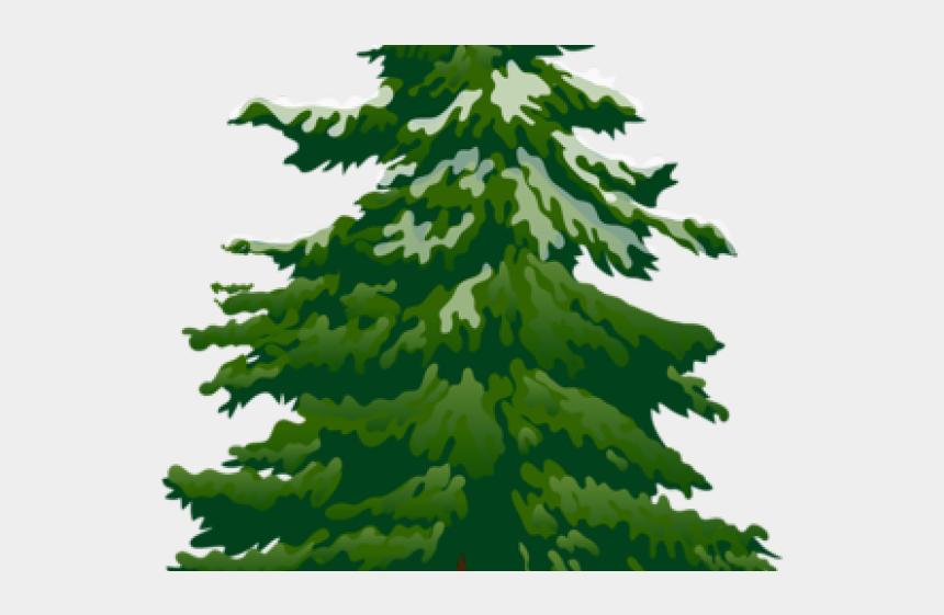pine trees clipart, Cartoons - Grumpy Christmas Tree