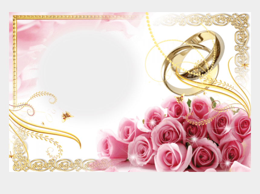 Free Wedding Rings Transparent Background - Pink Wedding