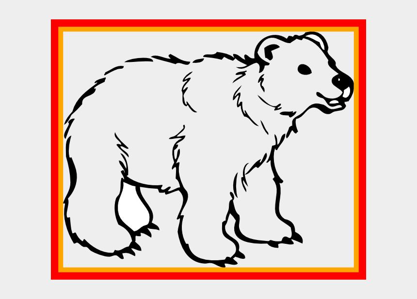 grizzly bears clipart, Cartoons - Grizzly Bear Clipart Polar Bear - Transparent Background Polar Bear Clip Art