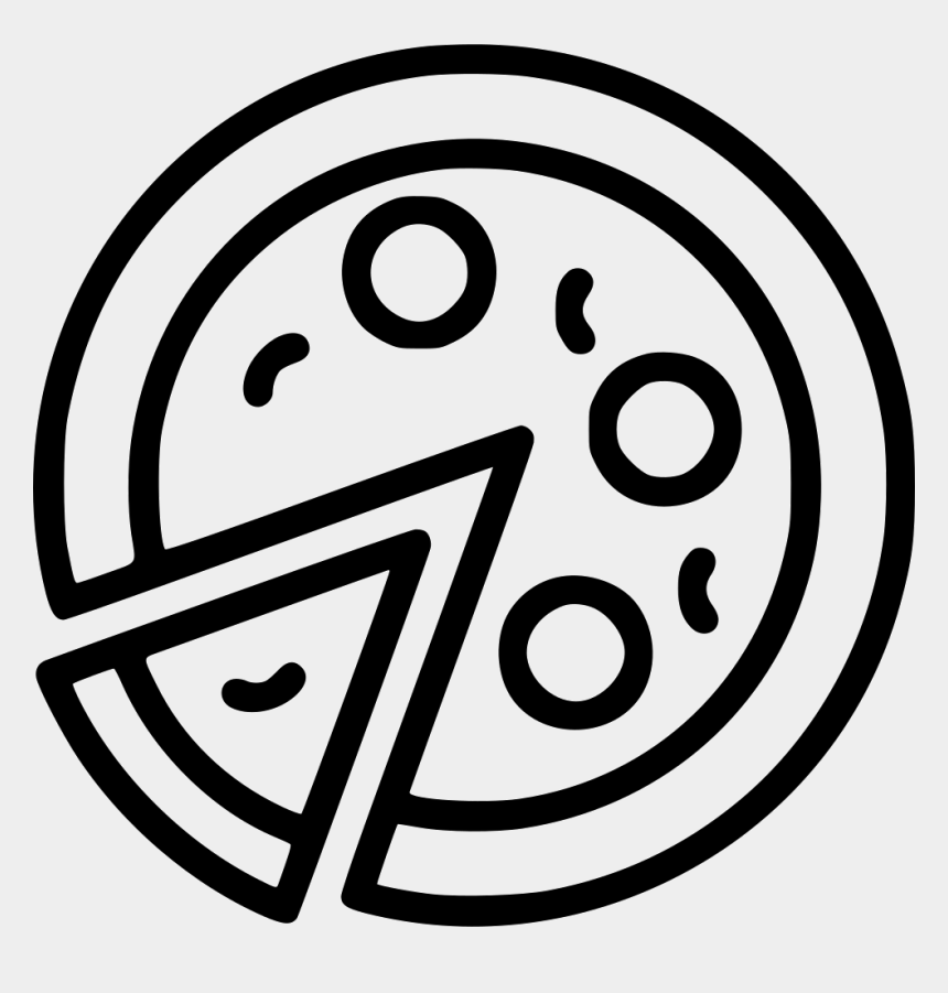 pizza slice clipart black and white, Cartoons - Pizza Slice Comments - Pizza Slice Icon Png