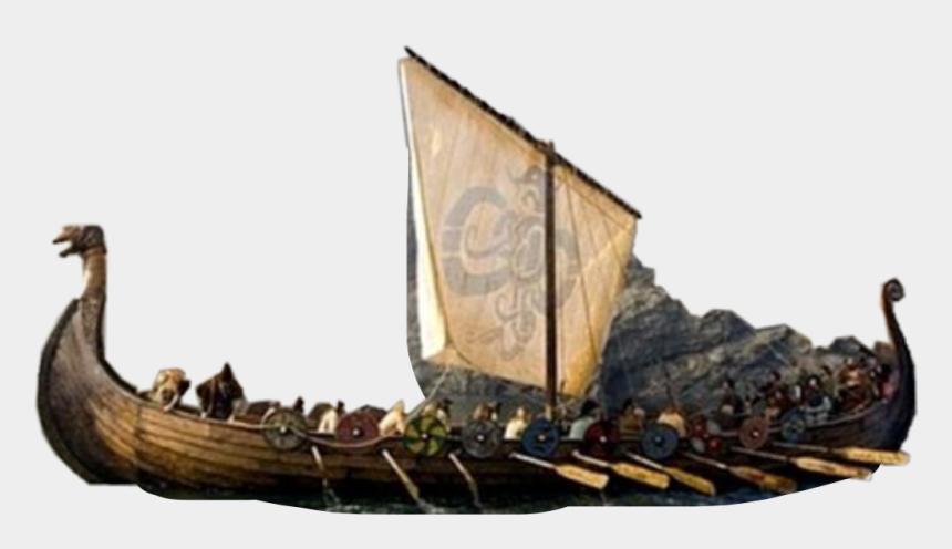 viking ship clipart, Cartoons - #vikings #ship #boat #war #flag #sail #crew #history - Did Leif Erikson's Ship Look Like