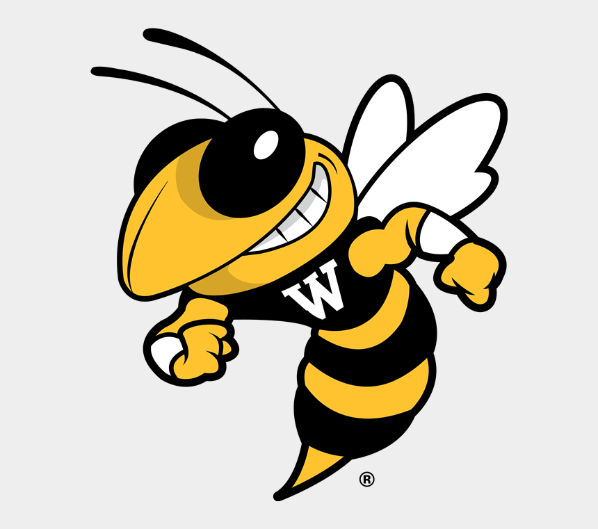 high school students clipart, Cartoons - Welcome To Wilson Middle School - Yellow Jacket Logo Vector