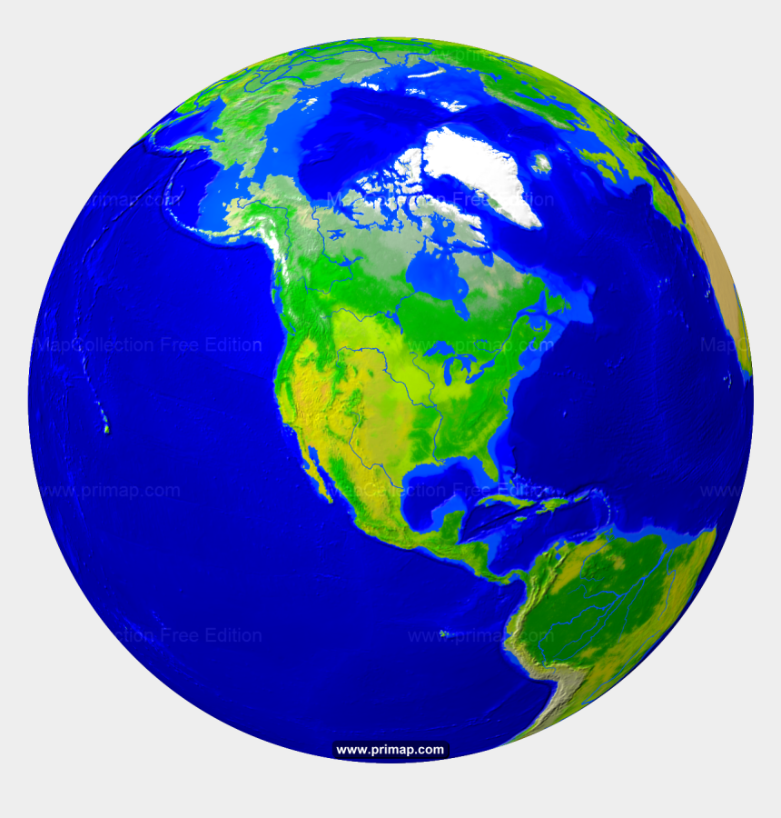 world map cliparts, Cartoons - Geoatlas World Maps And Globes Globe Africa Map City - North America Terrain