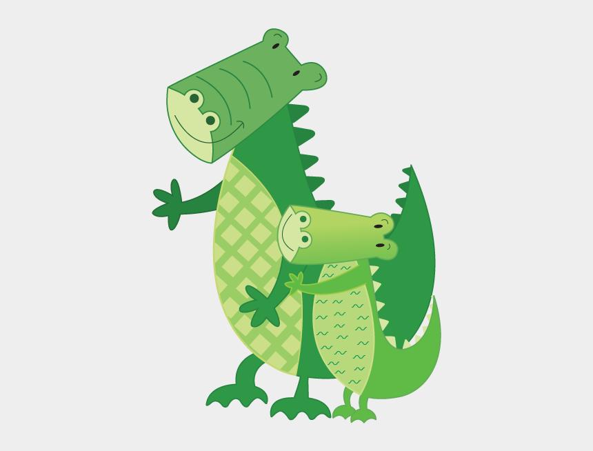 cute crocodile clipart, Cartoons - Crocodile Clipart Safari Jungle Animal Cute - Illustration